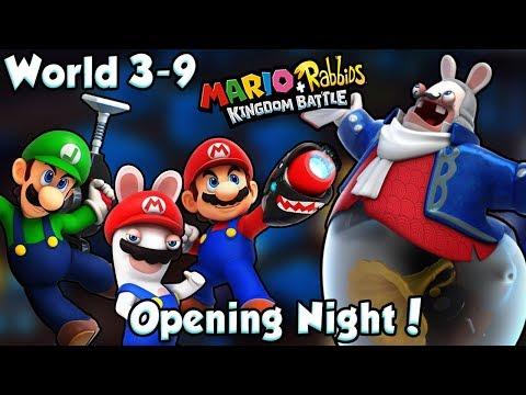 ABM: Mario+Rabbids Kingdom Battle Gameplay!! BOSS BATTLE!! PHANTOM!! HD