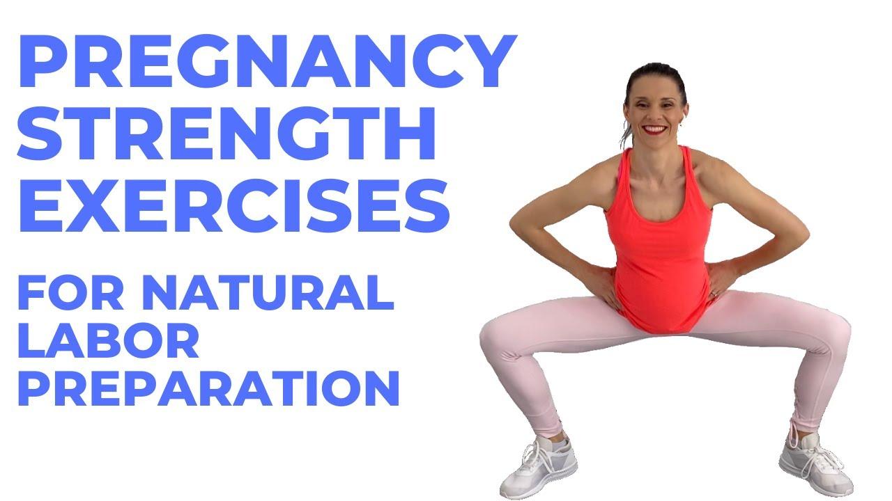 Pregnancy Exercise For Labor Preparation