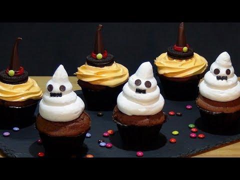Download Youtube: Receta Muffins de chocolate especiales para Halloween  - Recetas de cocina, paso a paso