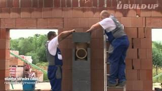 Montáž komína - návod | komínový systém BUILD UP® | DobryTah.cz
