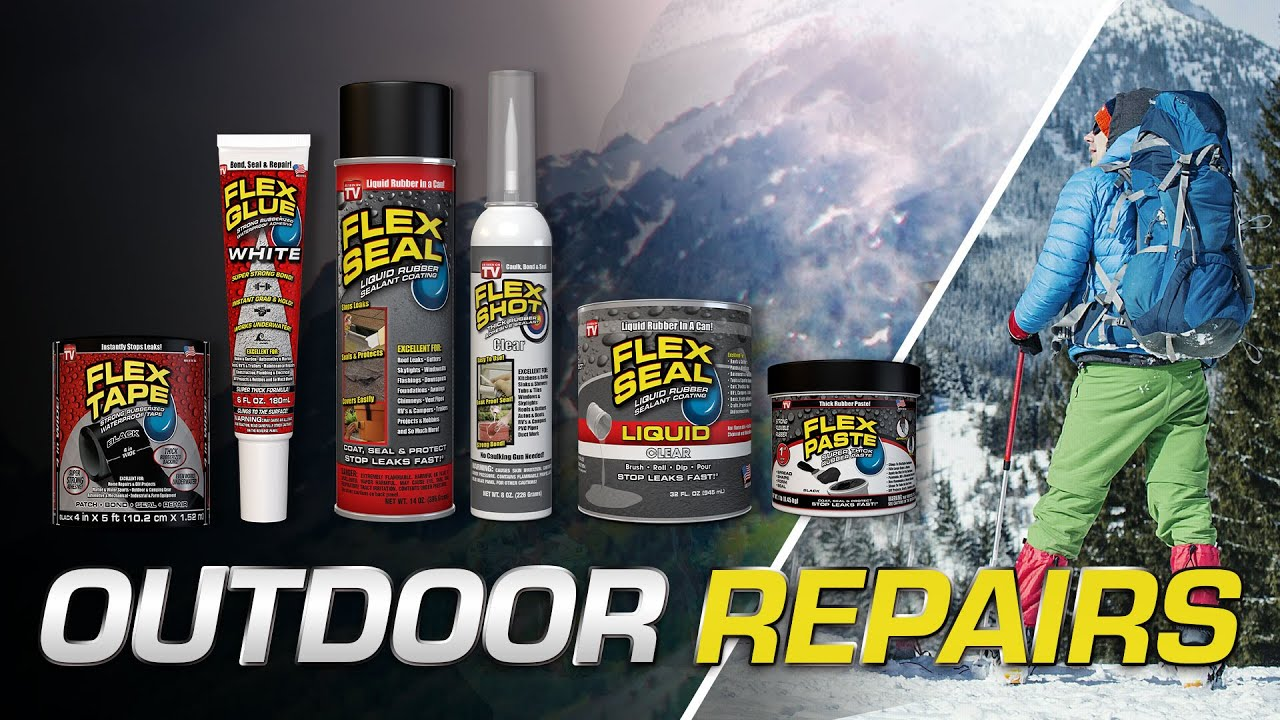 Powerful Outdoor Repairs with The Flex Seal® Family of Products!