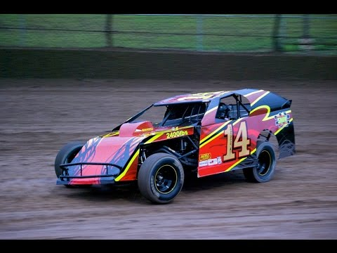 Tony Stewart in a UMP DIRT Modified - Paducah International Raceway Kentucky PIR KY