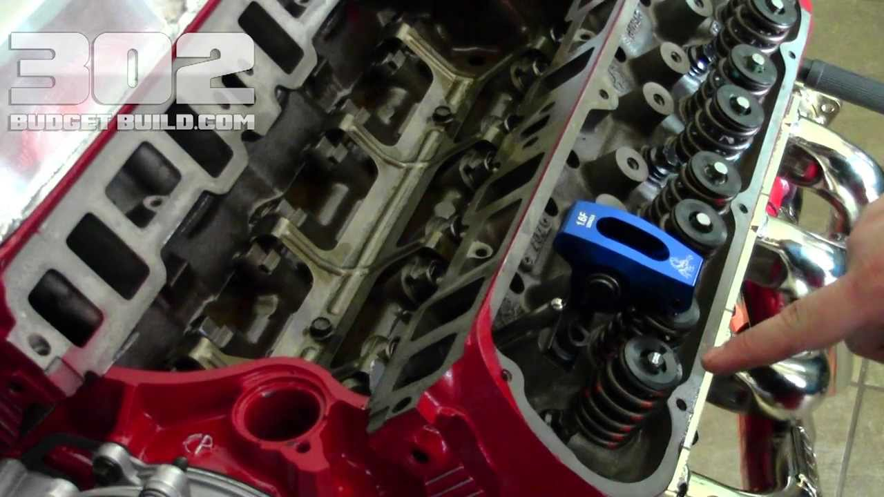 small resolution of checking the pushrod length on small block ford 302 stock length match youtube