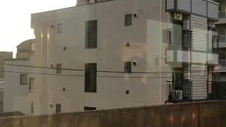 南海線 住吉大社駅から岸里玉出駅 側面展望