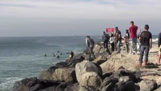 South Mission Beach Jetty Channel Surfing Film