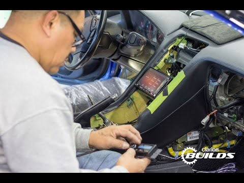 Clarion Builds 1991 NSX Gets Hooked up With Modern Electronics Upgrades!