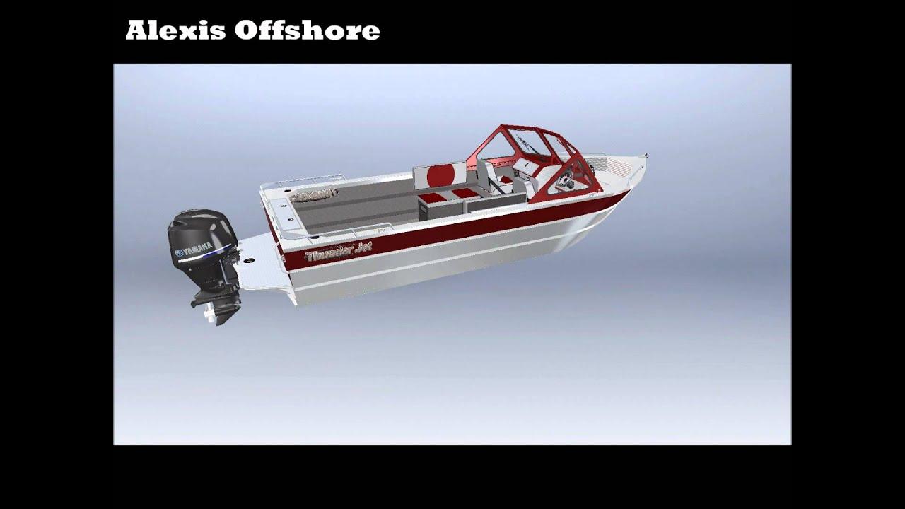 Thunderjet - Alexis Offshore 360 walk around