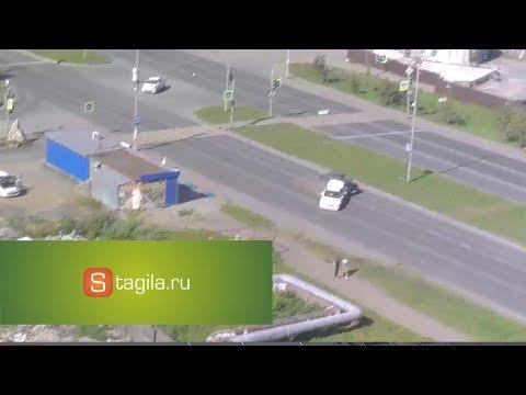ДТП в Нижнем Тагиле на перекрестке Черноисточинское ш. и ул. Бригадная
