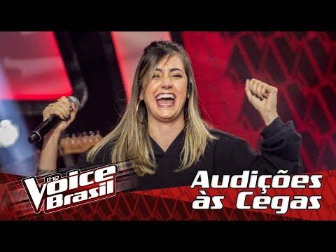 """Anna Julia canta """"Shape Of You"""" na Audição – 'The Voice Brasil'   6ª Temporada"""