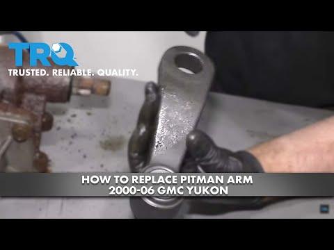 How to Replace Pitman Arm 2000-06 GMC Yukon