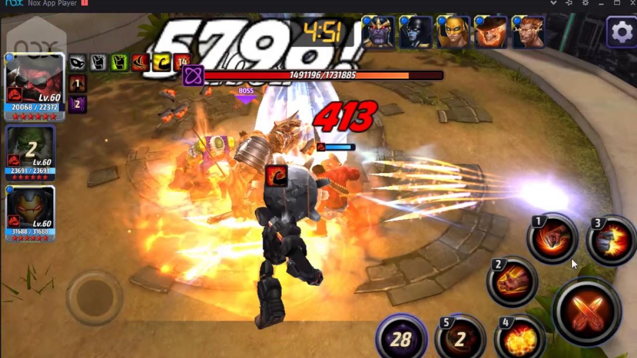 Red Hulk tier2 vs Black Dwarf