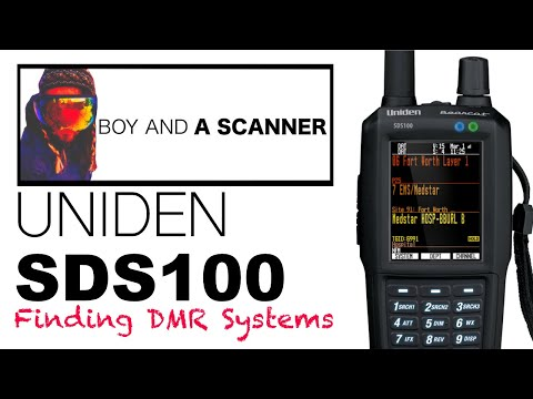 Finding DMR System Frequencies On The Uniden SDS100