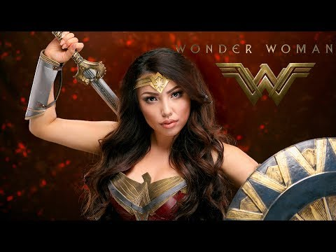 WONDER WOMAN Makeup Transformation !!!