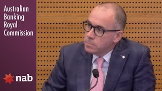The CEO of NAB testifies at the Banking Royal Commission