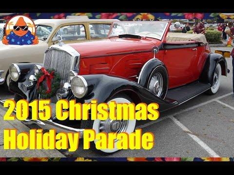 24th Annual LVNA Christmas Holiday Parade 2015 Lakewood Village, Sunnyvale California - NachoTV