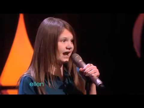 Savannah on Ellen - Learning that Ellen wants to sign her...