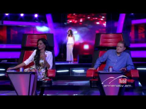 Elina Margaryan,Հեռանում եմ ես By Sirusho -- The Voice Of Armenia – The Blind Auditions – Season 3
