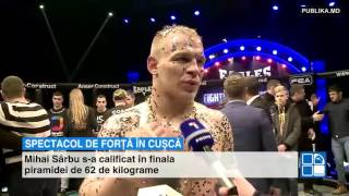 Vasile Botnaru a câştigat centura de campion la categoria de până la 77 de kilogram