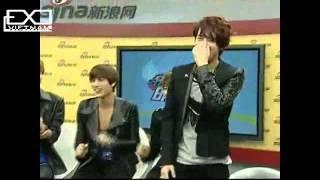 [S4E][Vietsub][120918] EXO-K @ Sina Live Chat [exovietnam.com]