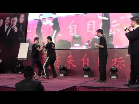 Shanghai Demo by Sifu Kleber - Practical Wing Chun Shanghai Club