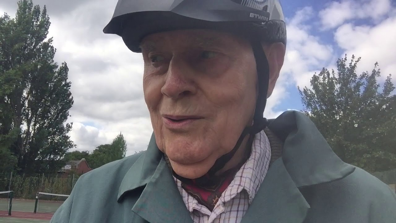Your never too old to learn to cycle