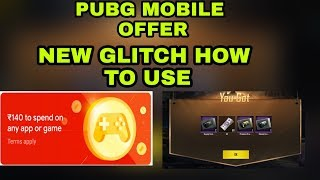 Pubg mobile new offer glitch play store how to use and collect rewards