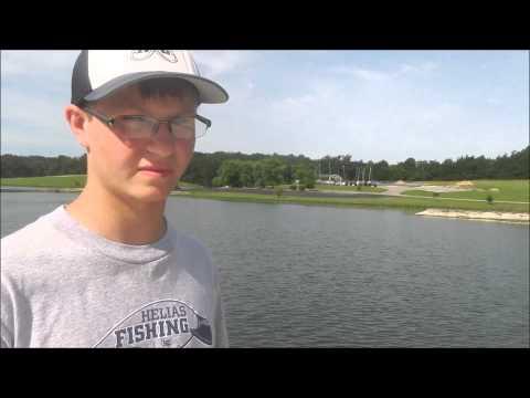 Bass Fishing with Helias High School