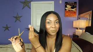 How To Trim Your Relaxed Hair