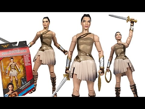 Mattel DC Multiverse Wonder Woman Movie Series Diana of Themyscira (Ares C&C Wave) Figure Review