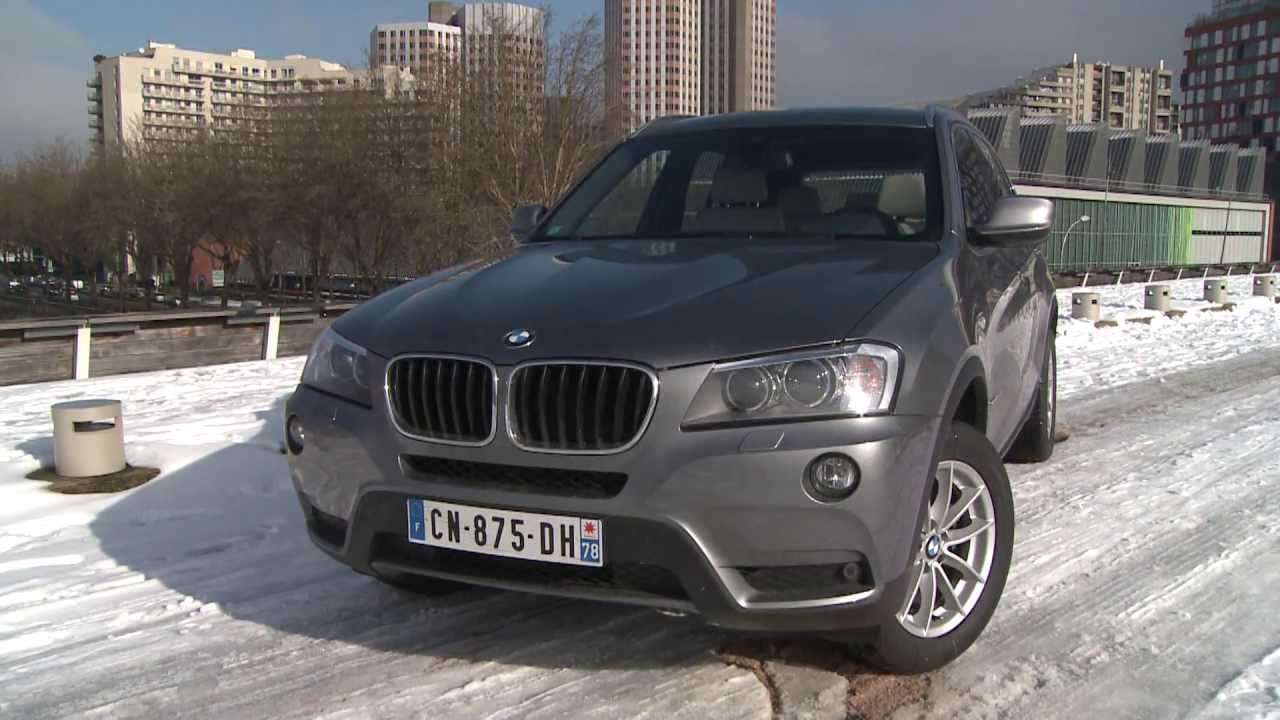 essai bmw x3 18d 143ch sdrive ex cutive youtube. Black Bedroom Furniture Sets. Home Design Ideas