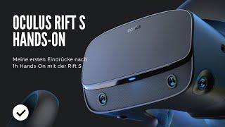 Oculus Rift S - Wie Gut Ist Sie Wirklich? MRTV Hands-On Review Deutsch