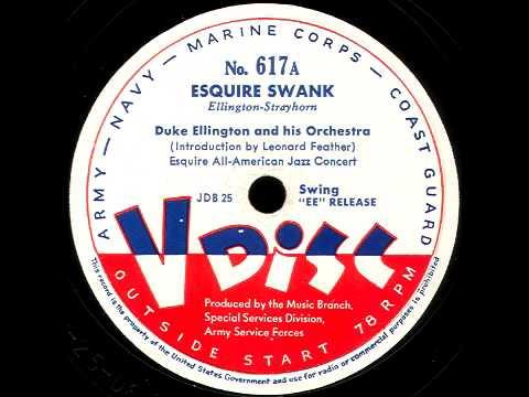 V-Disc 617 Duke Ellington, Woody Herman, Leonard Feather