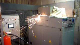 МСО 750 Сварка арматуры и съем грата после сварки(, 2011-04-05T15:20:35.000Z)