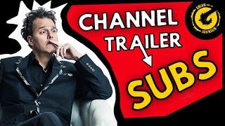 POWERFUL! YouTube Channel Trailer Tutorial,  Tips & Ideas