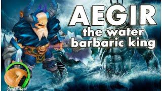 SUMMONERS WAR : Aegir the Water Barbaric King (gameplay spotlight)