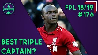 TRIPLE CAPTAIN TIME IN GAMEWEEK 36? | Fantasy Premier League 2018/19 | Let's Talk FPL #176