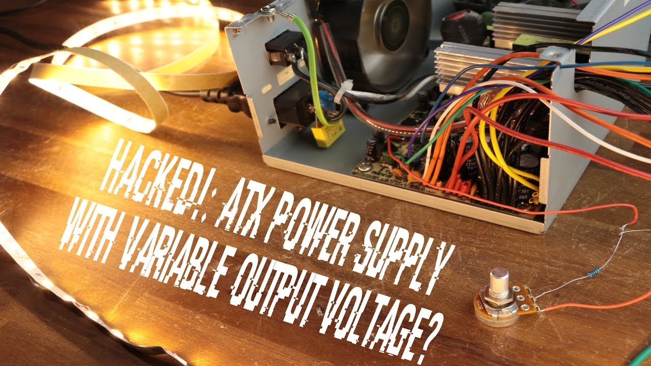 small resolution of atx power supply with variable output voltage youtube tl594 12v dc switch mode power supply circuit diagram super circuit