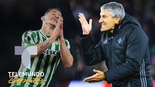 Guardado critica la forma de jugar del Betis y Setién responde con todo | Telemundo Deportes