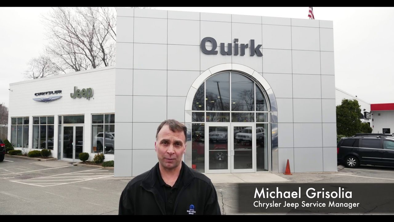 Welcome Quirk Chrysler Jeep Service - YouTube