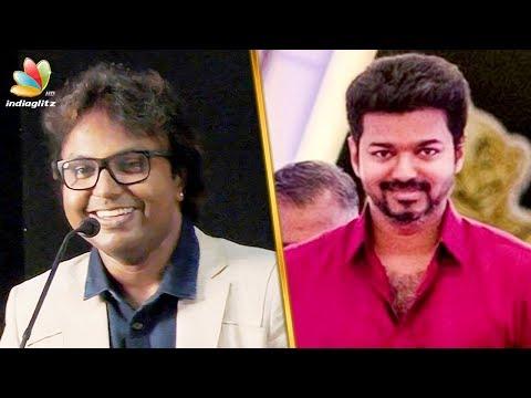 My first salary was for Vijay song : D Imman Speech   100 Movies   Press Meet