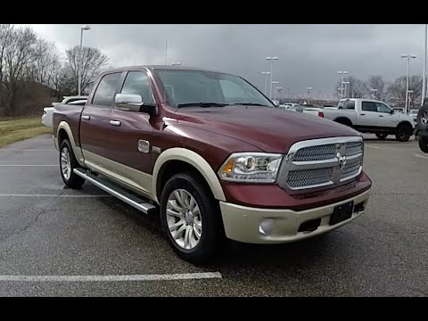 2016 ram 1500 laramie longhorn crew cab 4x4 gs250555 youtube. Black Bedroom Furniture Sets. Home Design Ideas