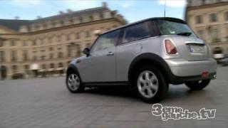Autopartage: Louer une mini cooper à l'heure dans Paris à 6euros de l'heure!