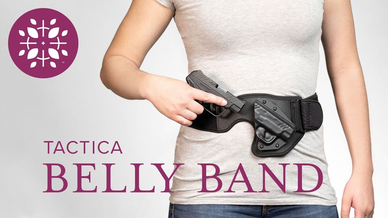 Concealed Carry Belly Band Holster by Tactica Defense Fashion