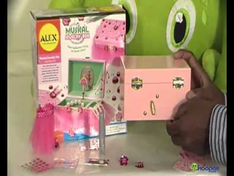 ALEX TOYS MUSICAL JEWELRY BOX YouTube