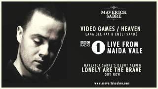 Maverick Sabre - BBC Radio 1 Live Lounge 'Video Games / Heaven' - Lana Del Ray & Emilie Sande mashup
