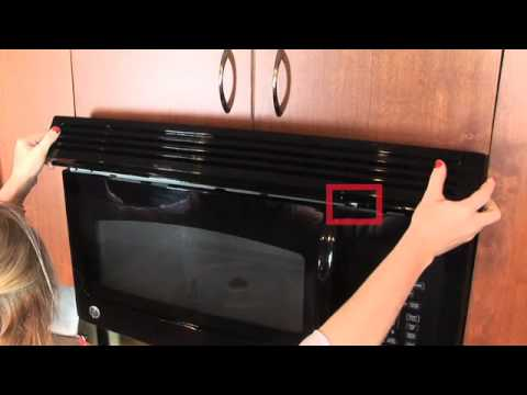 Microwave Charcoal Filter Replacement - YouTube