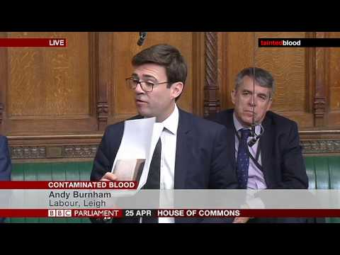Adjournment Debate: Andy Burnham MP - Tuesday 25th April 2017