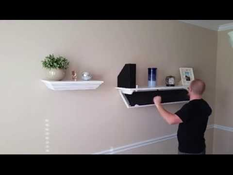 Covert Cabinets The Ideal Hidden Storage Solution - YouTube