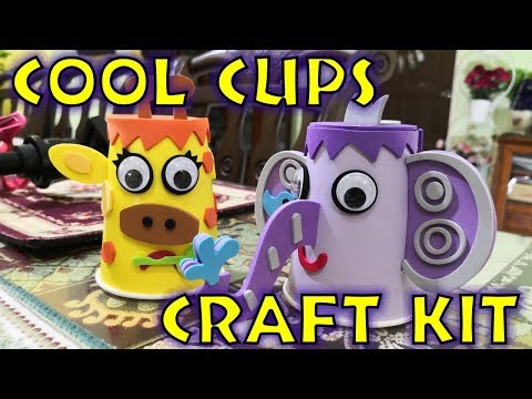 DIY Paper Cup Animal Craft Kit | Craft Ideas with Paper Cups