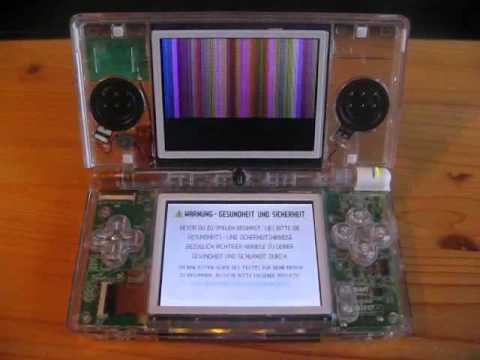 Nintendo Ds Lite Top Screen Problem Youtube